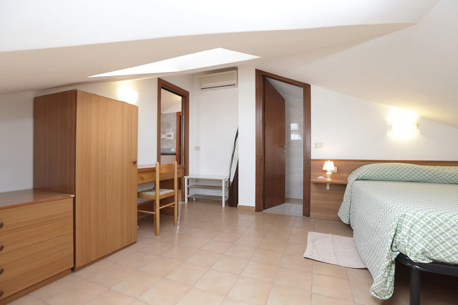 Two room Attic with master bedroom